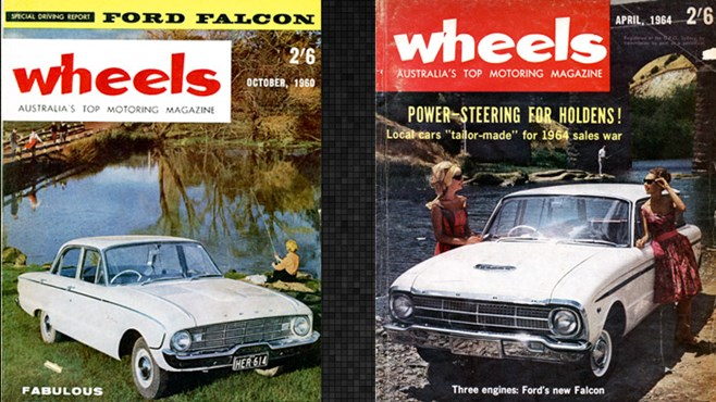 In pics: Ford in Wheels Magazine, magazine covers, retro, australia