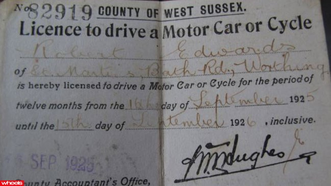 World's, oldest, driver, Bob, New Zealand, license, testing