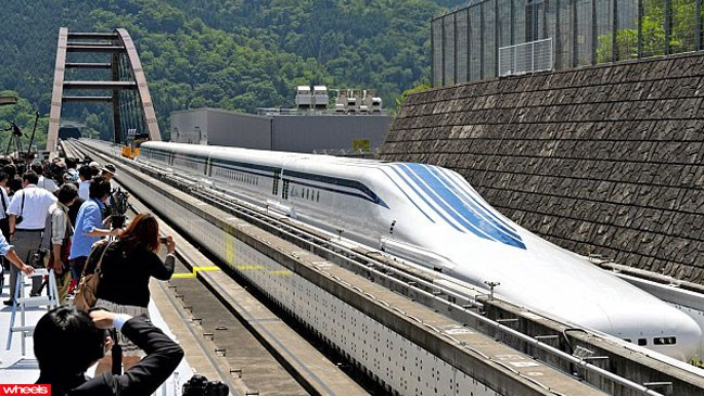 world's, fastest, train, japan, test, run, successful