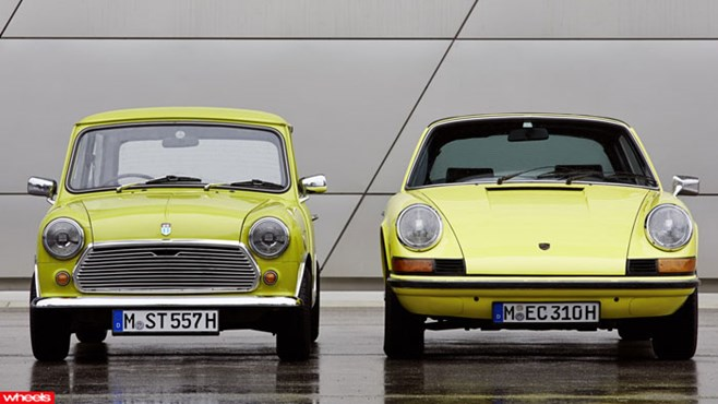 Porsche, Mini, 911, happy, birthday, nice, well, wishes, company, differences