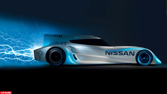 Nissan, fastest, electric, car, world's, new, Le Mans, garage 56, ZEOD, emissions
