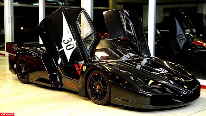 Michael, Schumacher, Ferrari, FXX, for slae, Enzo, supercar, expensive
