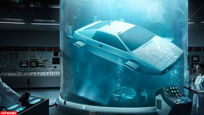 James, Bond, Lotus, Esprit, Submarine, car, for, sale, auction