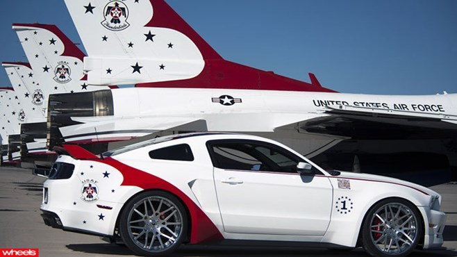 Limitied, Edition, Ford, Mustang, Thunderbirds, USA, Air Force, Independence, Day
