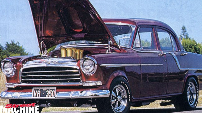 V8, street machine files, street machine magazine, 350 chev