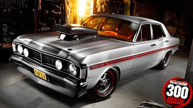 Ford Falcon tribute custom modified, street machine