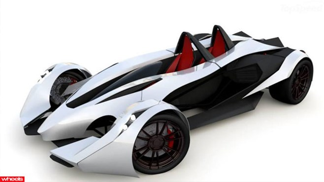 another, Mexican, supercar, sportscar, lightweight, Ariel Atom