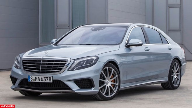 Revealed, Mercedes-Benz, S Class, S63, AMG, super saloon, supercar, performance