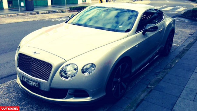 Wheels garage: Bentley Continental GT Speed