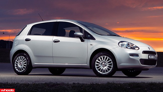 Fiat Punto Pop review, Australia, 2013, test