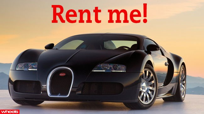 Got 30 grand to blow? Feeling impulsive and have a need for speed? How about hiring a Bugatti Veyron for a day?