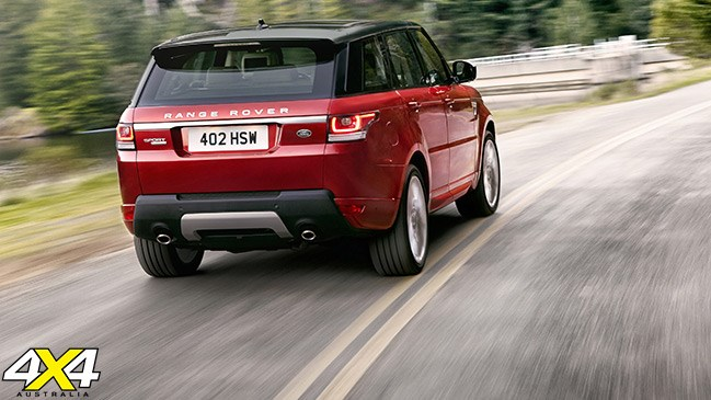 Range Rover Sport: Less weight equals more speed and efficiency