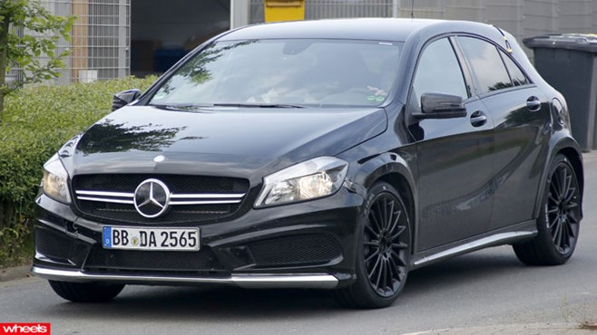 Mercedes-Benz A45 Black Series