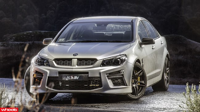 Australia's fastest and most powerful car, the HSV GTS, has been thumped by Germany's equivalent of the super-sedan – the Mercedes-Benz E63 S AMG.