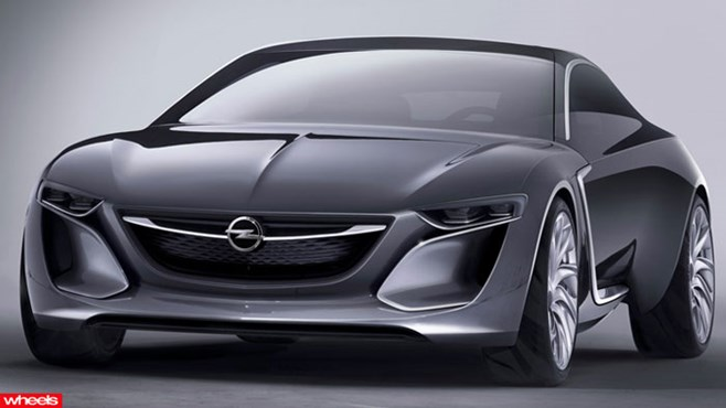 Everyone, meet the Vauxhall of the future – the Monza Concept.