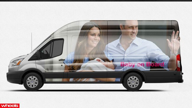 Ford Transit, Ford Commercials, vinyl wraps, Miley Cyrus, Essendon, Kevin Rudd, Tony Abbott, Wheels magazine