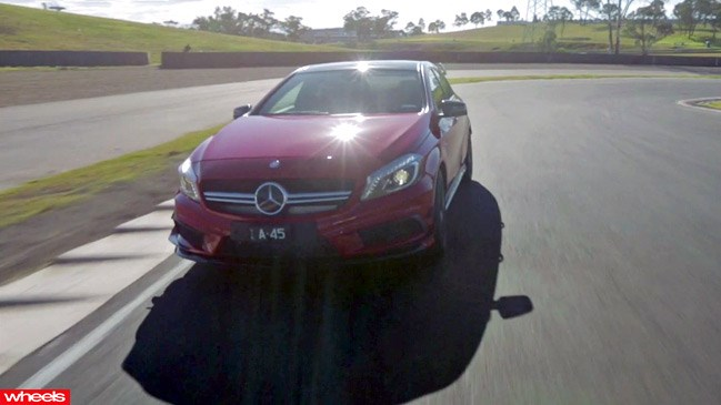 Mercedes-Benz A45 AMG 2014 test drive