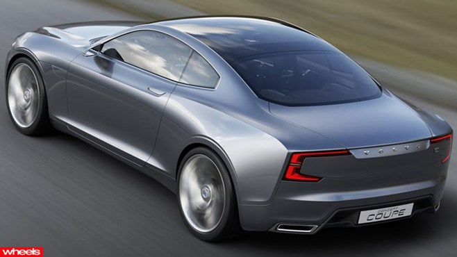Volvo Coupe Concept, Volvo Coupe, Frankfurt Motor Show, Wheels, Wheels magazine