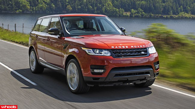 Range, Rover, Sport, first, drive, fast, new