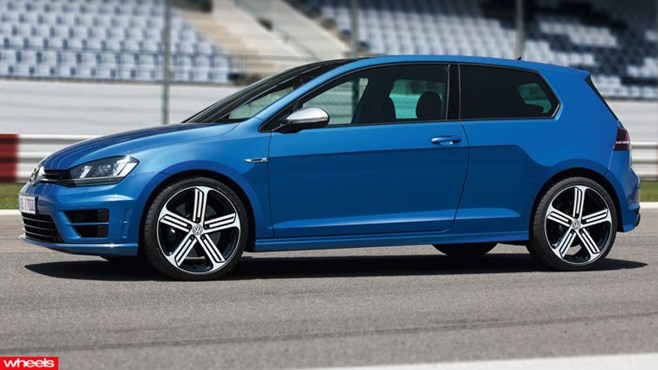 Volkswagen has given us a better look at its new Mk VII Golf R by releasing a host of images before it official Frankfurt Motor Show debut.