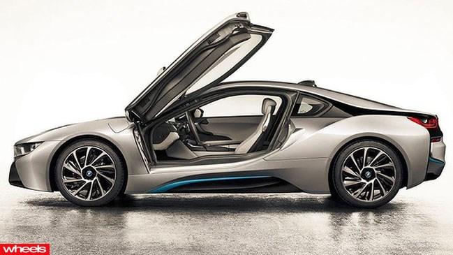 Official shots of BMW's hero car for this year's Frankfurt Motor show, the i8, have leaked online days before its official debut.