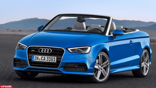 Audi has taken the wraps off the new A3 Cabriolet at the Frankfurt show, and promised a hotter S3 to follow.