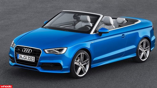 Audi A3 Cabriolet 2014: Arrives in Australia next summer
