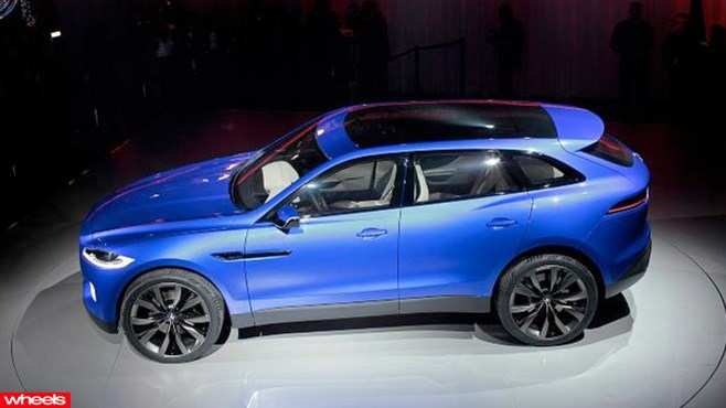 Jaguar C-X17 crossover revealed - Jag's first 4x4 SUV.