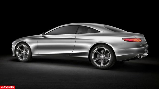 Mercedes-Benz Concept S-Class Coupe, Mercedes-Benz S-Class, Frankfurt Motor Show 2013, Wheels, Wheels magazine