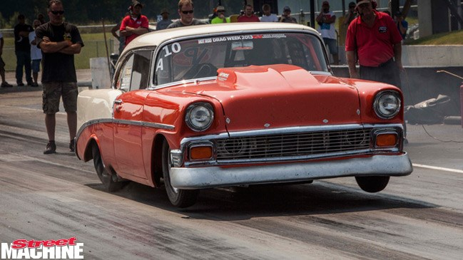 MIXED results for the Aussie teams on the fourth day of Hot Rod Drag Week 2013.