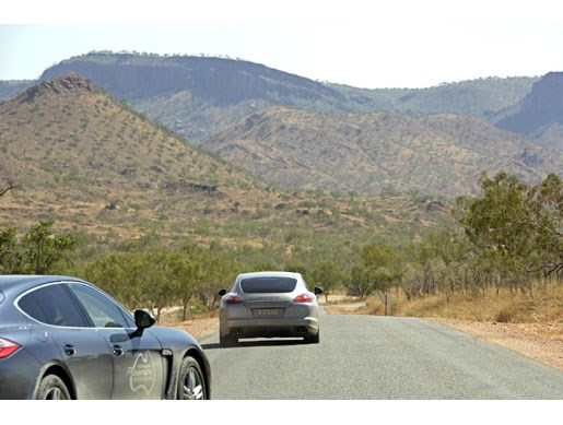Porsche Panamera Down Under, Up Top - Image 9