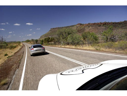 Porsche Panamera Down Under, Up Top - Image 22