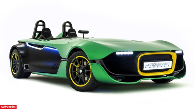 Meet Caterham's vision for its future car range – the all new AeroSeven concept.