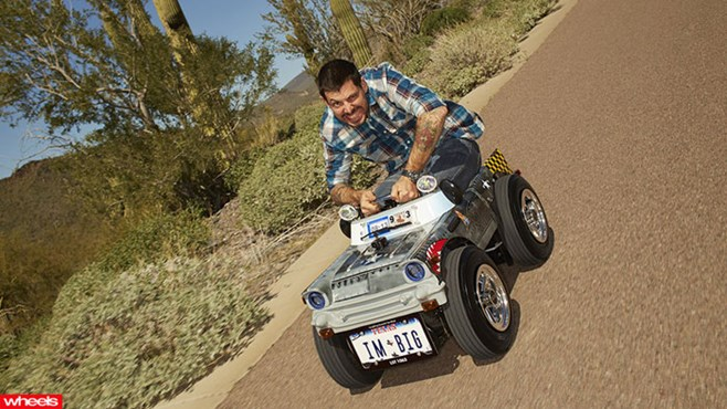 Forget the Peel P50, there's a new king of the tiny automobile – everyone meet the world's smallest car.