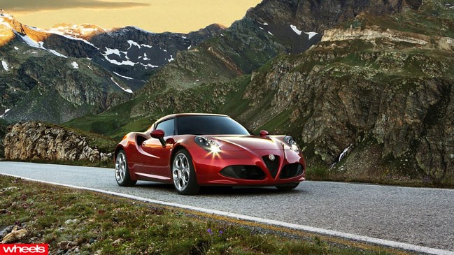 Alfa, Romeo, new, supercar, sportscar, Porsche, Cayman, wheels magazine