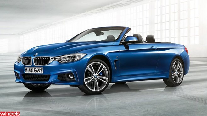BMW, new, model, convertible, 4 Series, coupe, local, launch, Australia