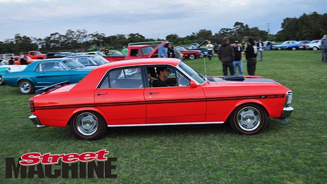 In pics: Muscle car cruise