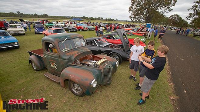 In pics: Muscle cars and more in Kingaroy this weekend