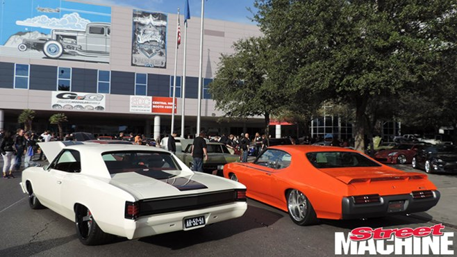 In pics: Muscle cars, fast trucks and hot rods at SEMA