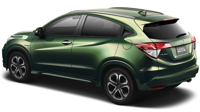 Honda's all new all-new Vezel