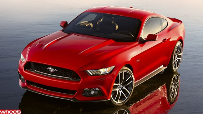 Here it is - 2014 Ford Mustang