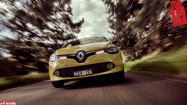 Wheels magazine, motoring, Top 10 2013, Renault Clio
