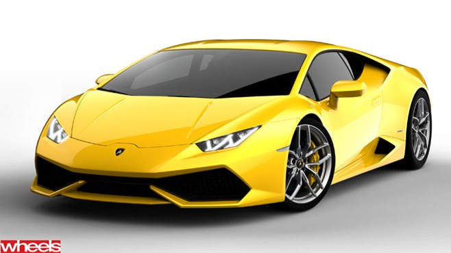 Lamborghini Huracan revealed!
