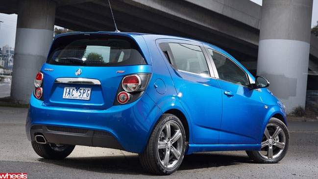 Wheels magazine, Holden Barina RS, hatch, first drive