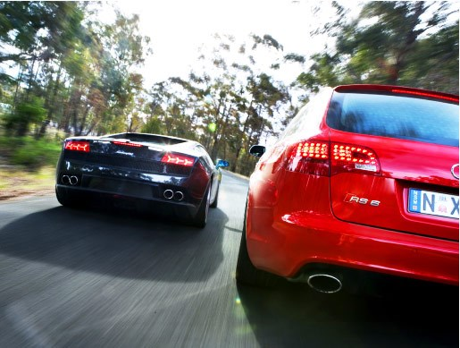 Audi RS6 vs Lambo Gallardo LP560 - 4 - Image 4
