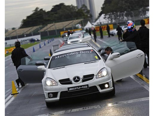 Mercedes AMG at Albert Park - Image 9