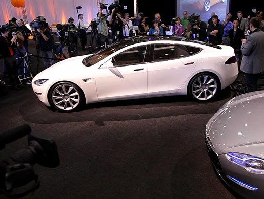 Tesla Model S launch - Image 4