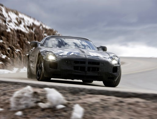 Mercedes-Benz SLS AMG Gullwing mule - Image 1