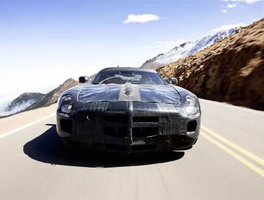 Mercedes-Benz SLS AMG Gullwing mule - Image 3