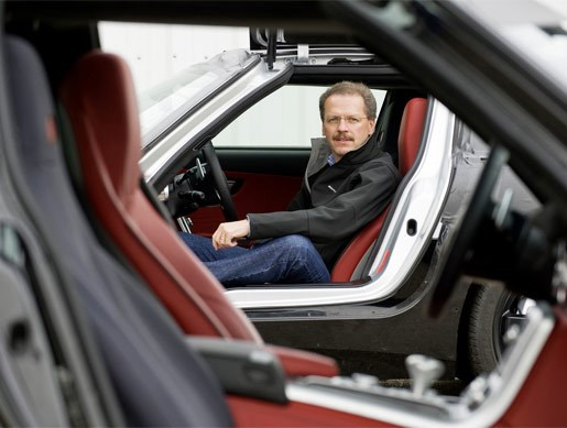 Mercedes-Benz SLS AMG Gullwing mule - Image 8